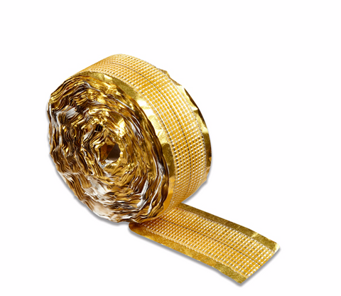 Roll of Gripperrods Standard Gold Heat Seam Tape