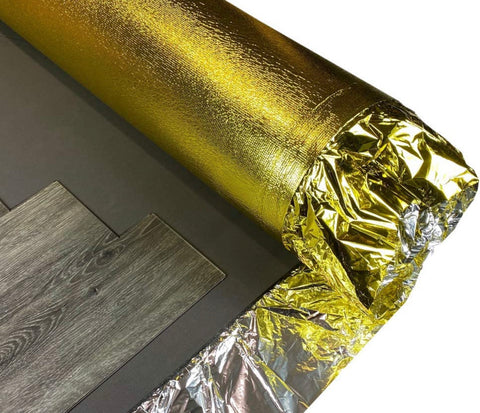 Royale 7mm Professional Sonic Gold Underlay For Wood / Laminate Flooring from £4.66 Per m2