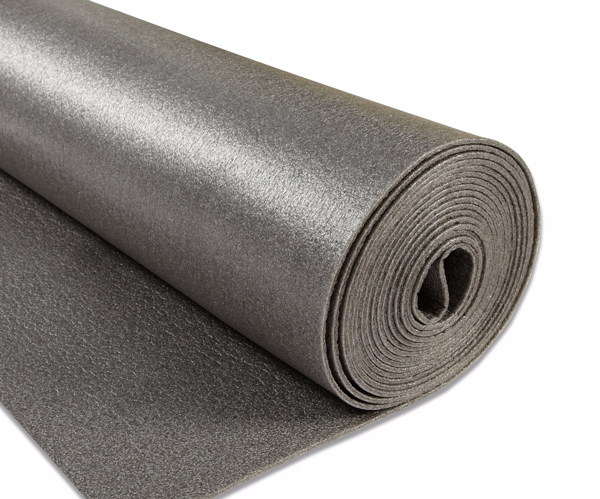 carpet underlay roll. novostrat graphite carpet underlay half roll s