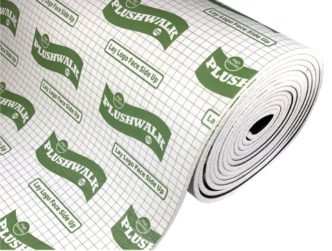 Plushwalk 12mm Carpet Underlay From £4.33 per m2