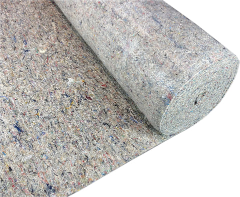 48oz Wool Felt Carpet Underlay from £3.33 Per m2