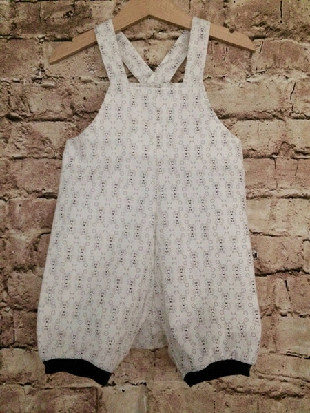 'Wolfie' Pima Cotton Romper