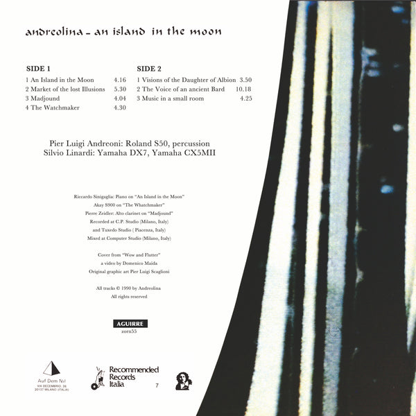 Andreolina - An Island In The Moon LP