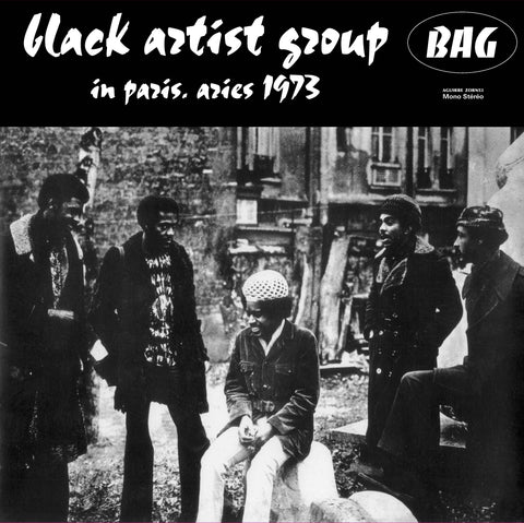 Black Artists Group ‎– In Paris, Aries 1973 LP