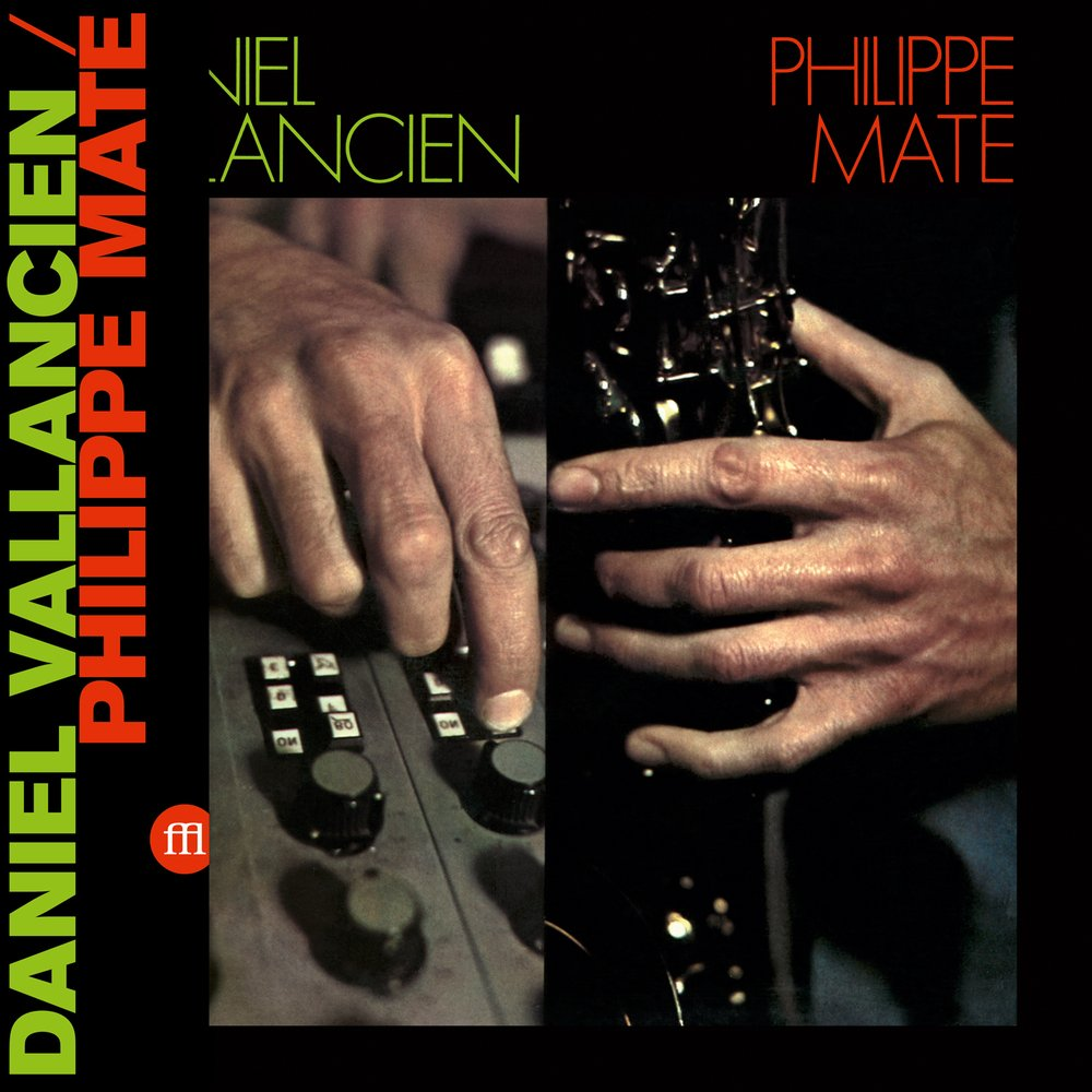 Philippe Maté / Daniel Vallancien ‎– Maté/Vallancien LP