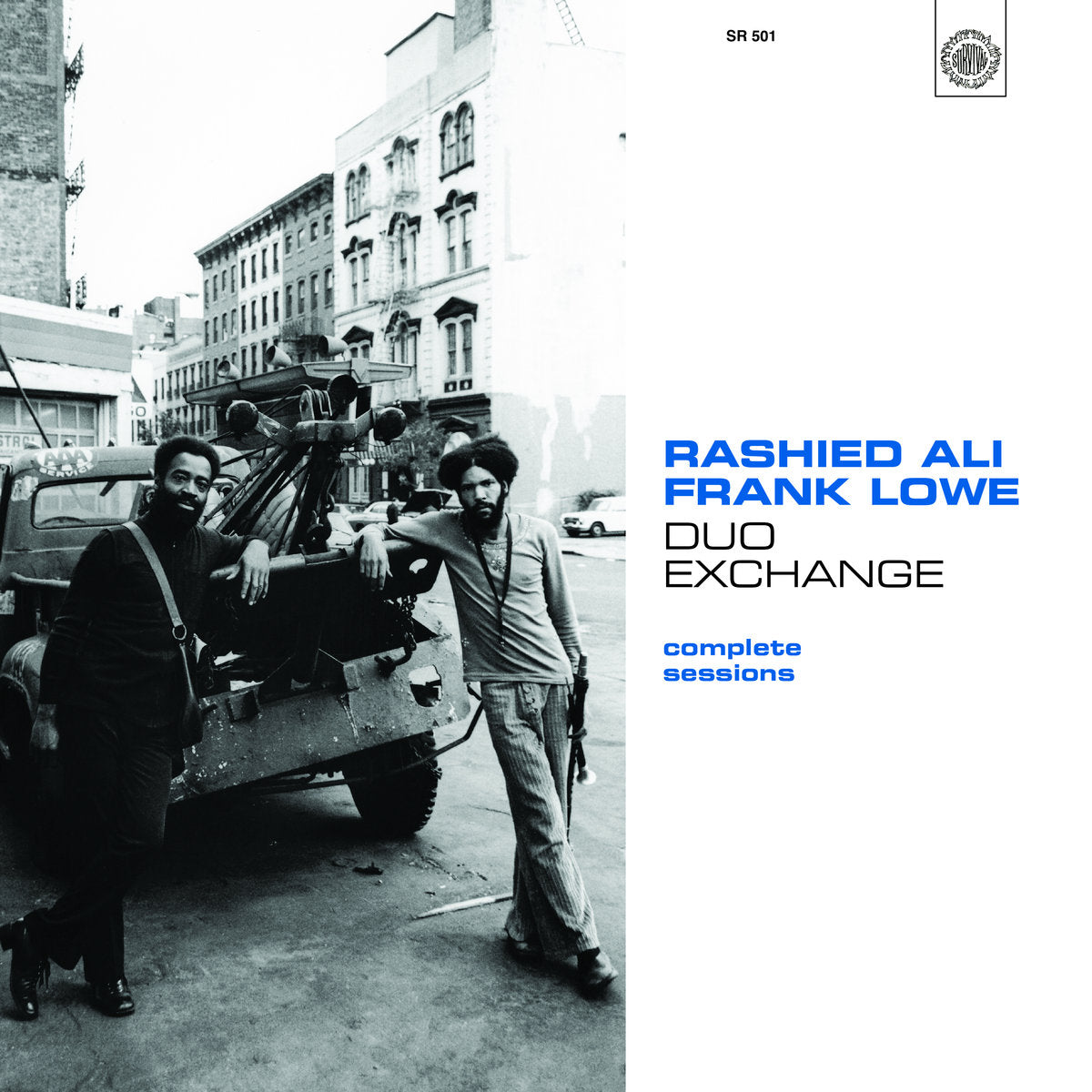 Rashied Ali & Frank Lowe - Duo Exchange: Complete Sessions 2xLP