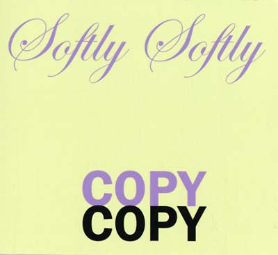 Graham Lambkin - Soft Softly Copy CD - AguirreRecords
