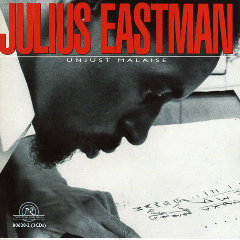 Julius Eastman - Unjust Malaise 3xCD - AguirreRecords