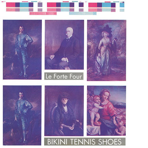 Le Forte Four - Bikini Tennis Shoes LP - AguirreRecords