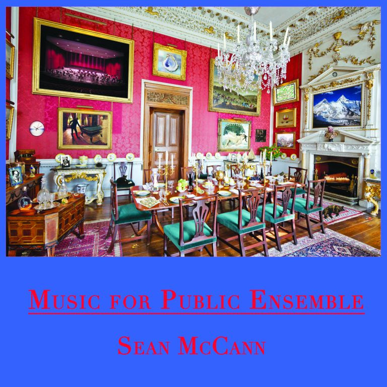 Sean McCann - Music For Public Ensemble 2xLP - AguirreRecords