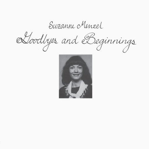Suzanne Menzel ‎– Goodbyes And Beginnings LP