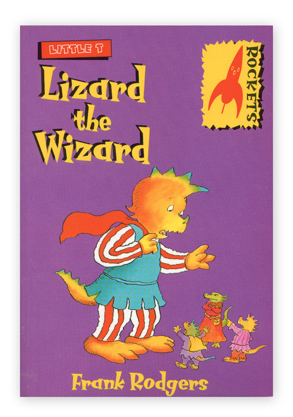 Little T - Lizard the Wizard