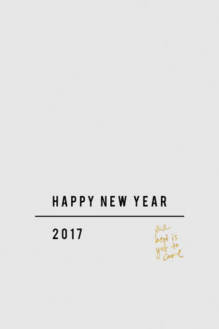 Happy New Year - 2017 Wishes