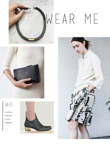 Wear Me #6: With a Splash of Brass