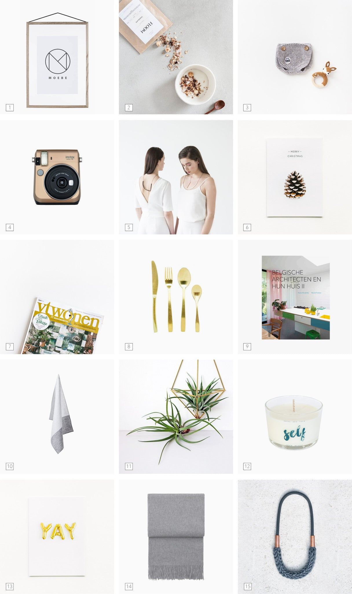 Featured in vtwonen: 15 Original Gift-Ideas for NYE