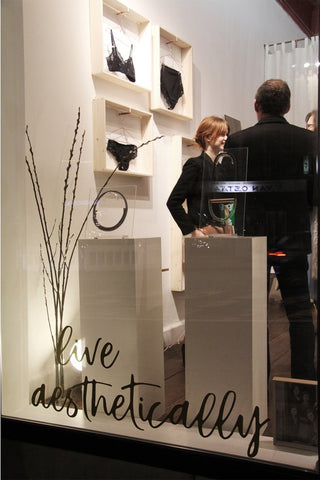 The Opening of our Flagship store in Antwerp: Live Aesthetically