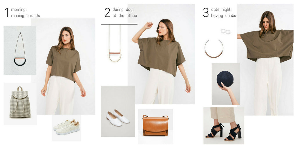 one outfit three styles - AR.M Jewelry