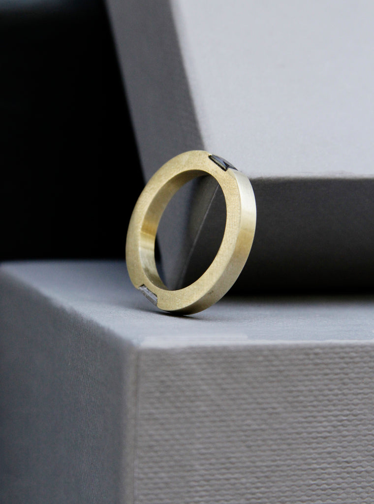 Architectural Engagement ring - anna rosa moschouti