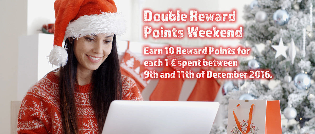 Double Bonus Weekend 9.-11.12.