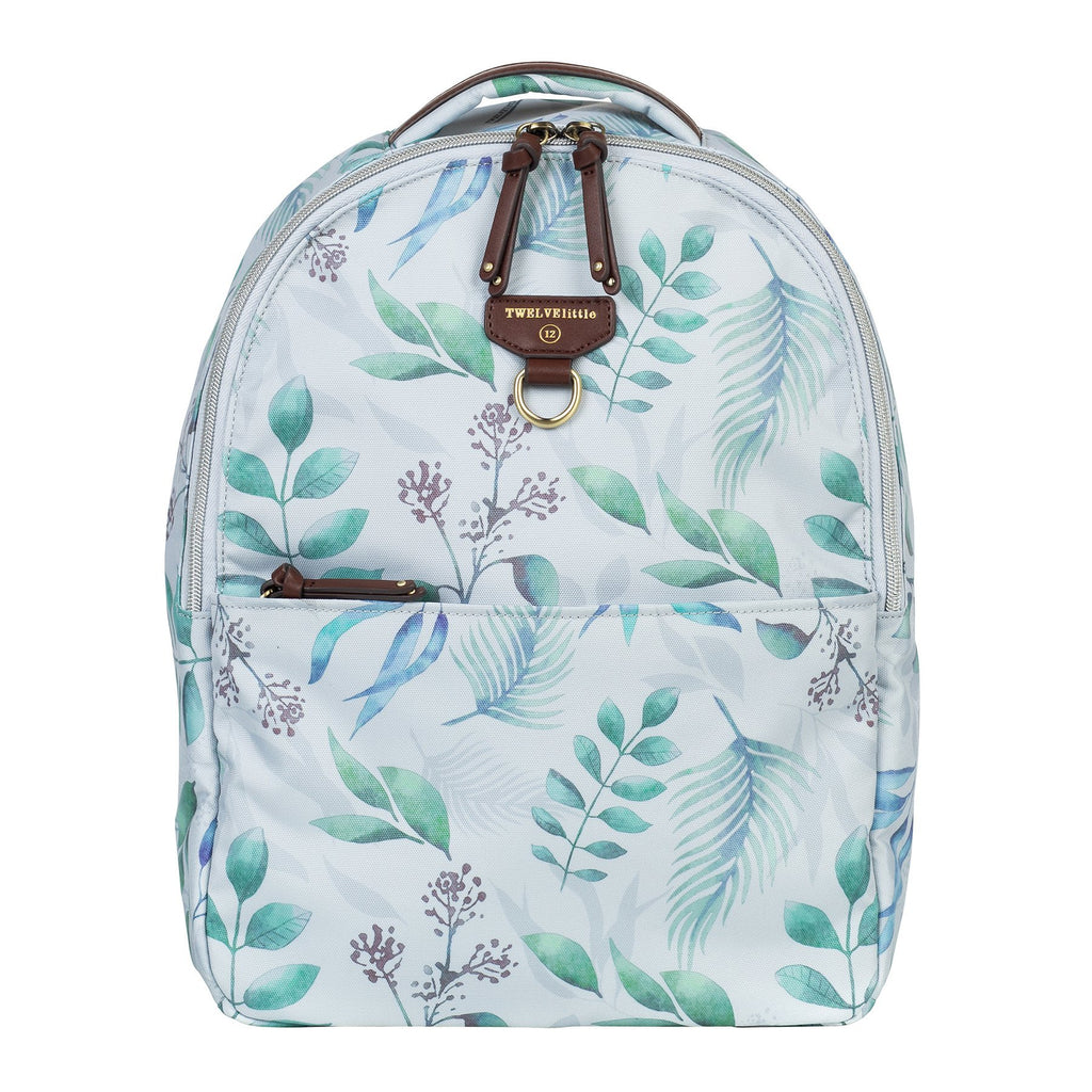 TWELVElittle Mini-Go Backpack in Leaf Print
