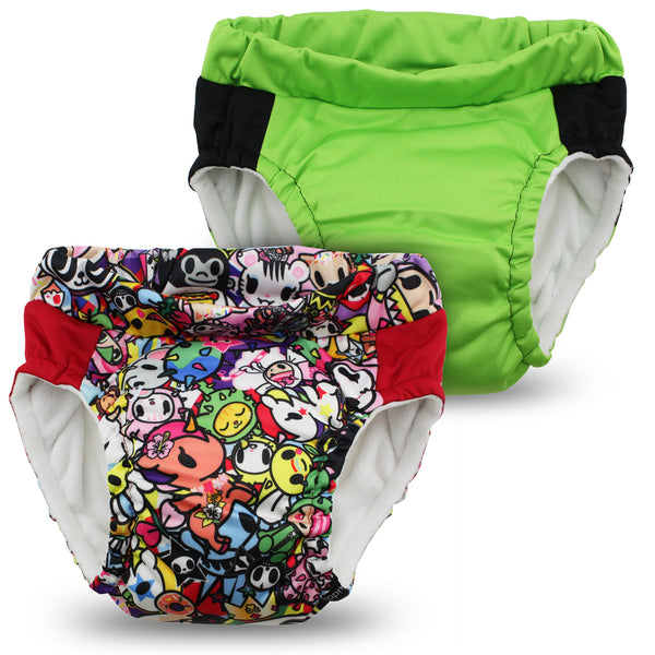 tokidoki x Kanga Care Lil Learnerz Training Pants - tokiJoy & Tadpole 2 pack