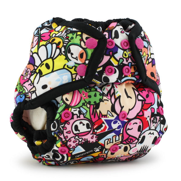 tokidoki x Kanga Care Rumparooz One Size Cloth Diaper Cover - TokiJoy Phantom