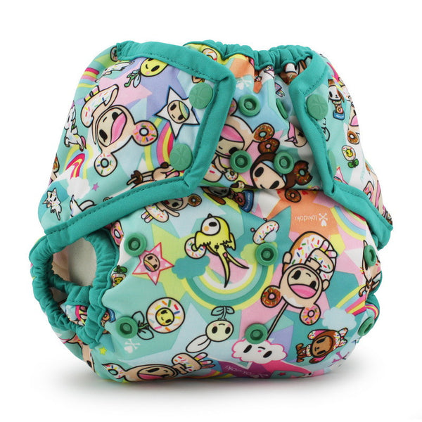 tokidoki x Kanga Care Rumparooz One Size Cloth Diaper Cover - TokiSweet Peacock