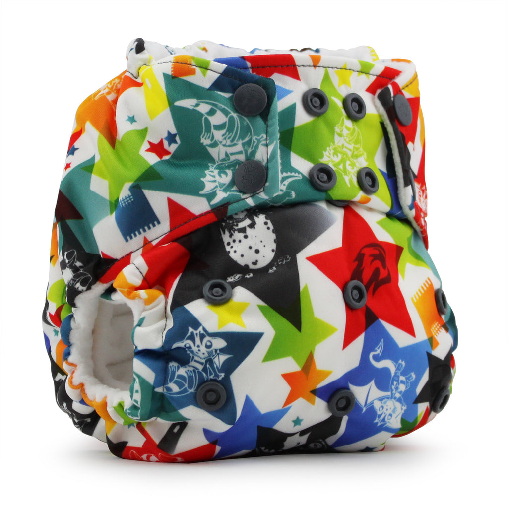 Rumparooz One Size Cloth Diaper - Dragons Fly