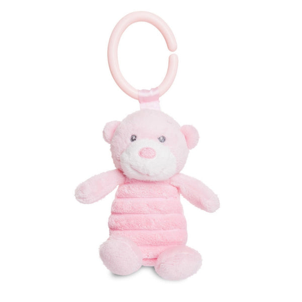 Bonnie C-Clip Squeaker Pink plush toy 6.5In / 16 cm