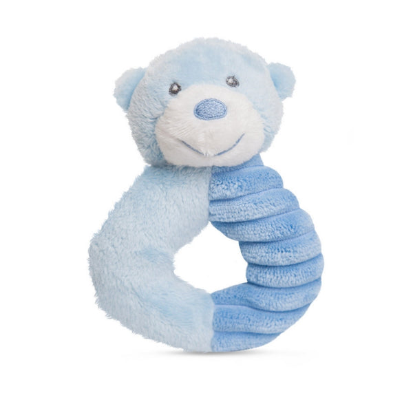 Bonnie Ring Rattle Blue plush toy 5.5In / 14 cm