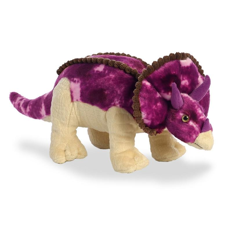 Dinosaurs Triceratops plush toy 13In / 33 cm