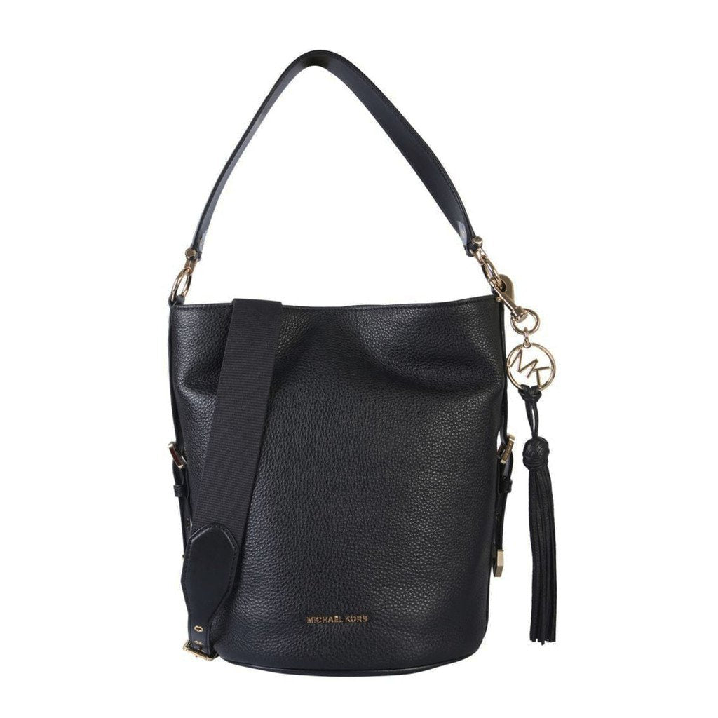 Michael Kors Brooke Medium Pebbled Leather Bucket Bag