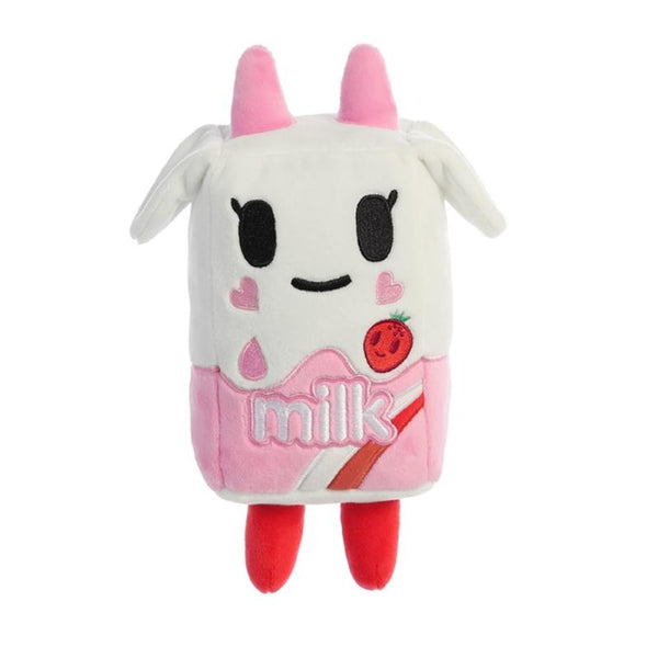 Tokidoki Strawberry Milk Plush 7.5in / 19 cm