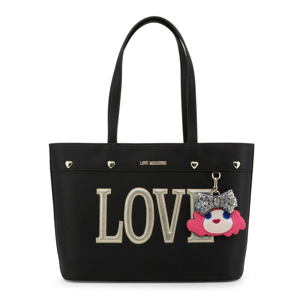 Love Moschino Shoulder Bag With Charming Doll