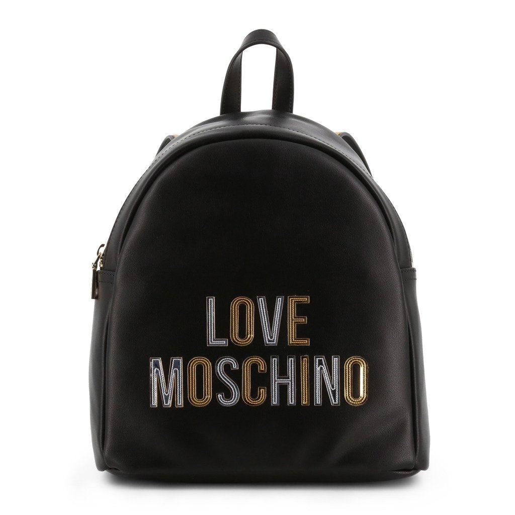 Love Moschino Laminated Logo Backpack