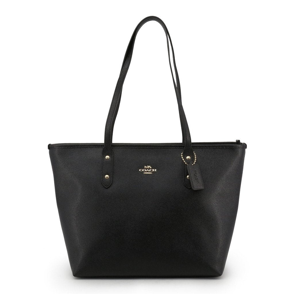 Coach City Zip Top Tote Crossgrain Leather
