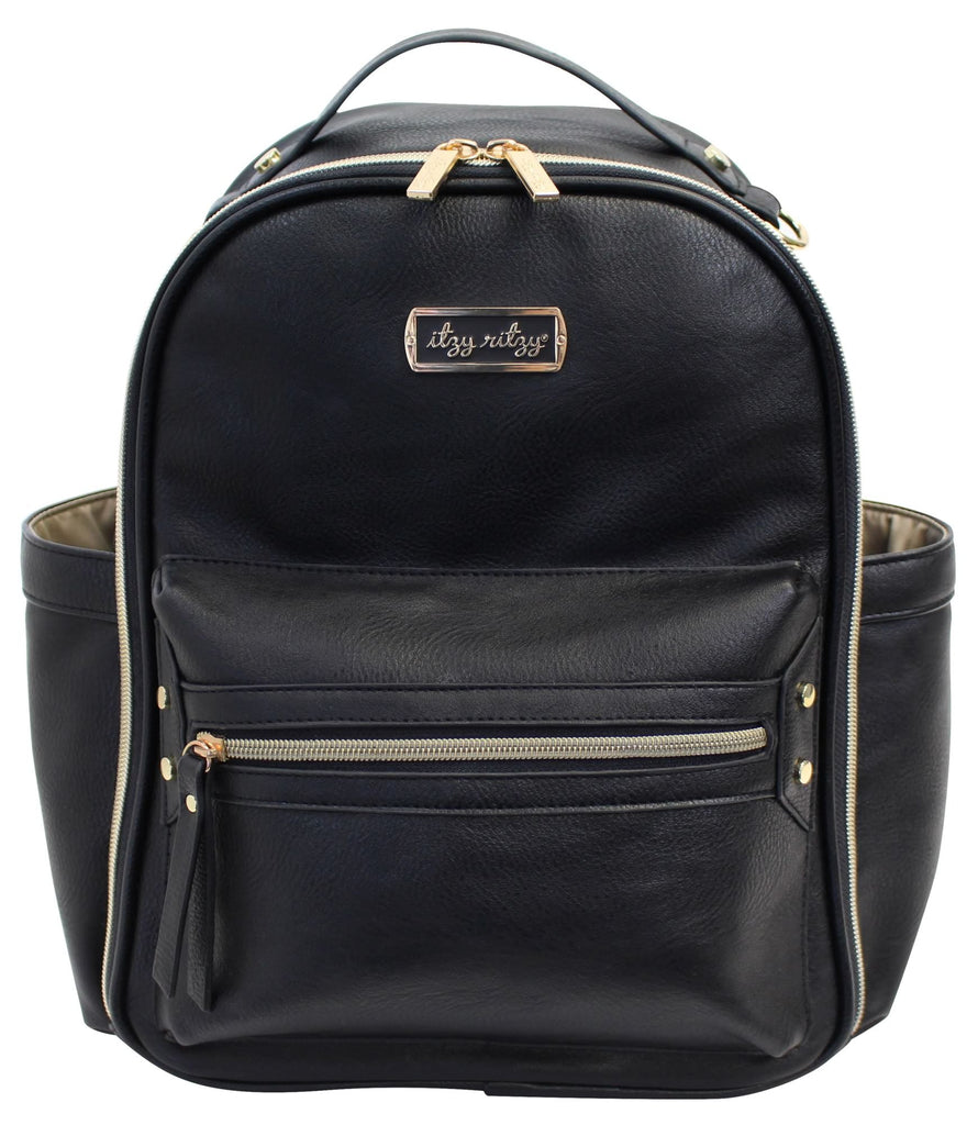 Itzy Ritzy Mini Backpack Black
