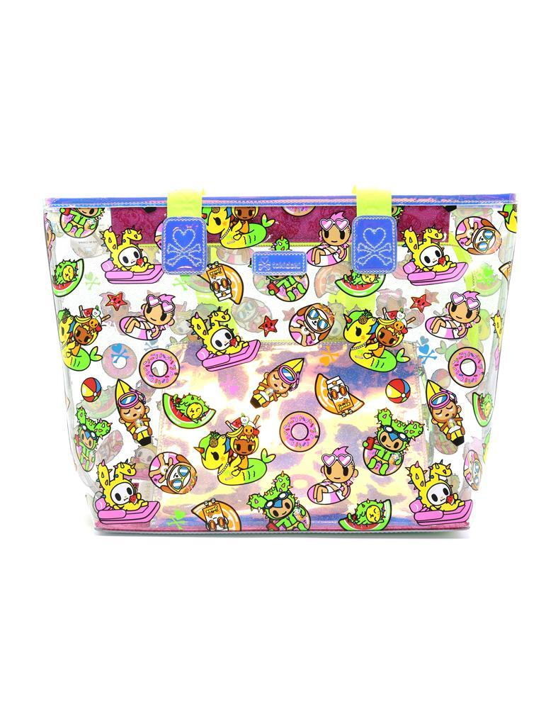 Tokidoki Pool Party Clear Beach Tote