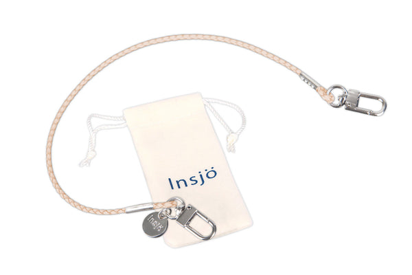 Insjö Lenkki leather strap Beige