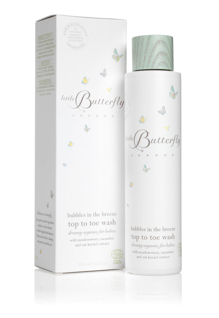 Bubbles in the breeze top to toe wash 200ml