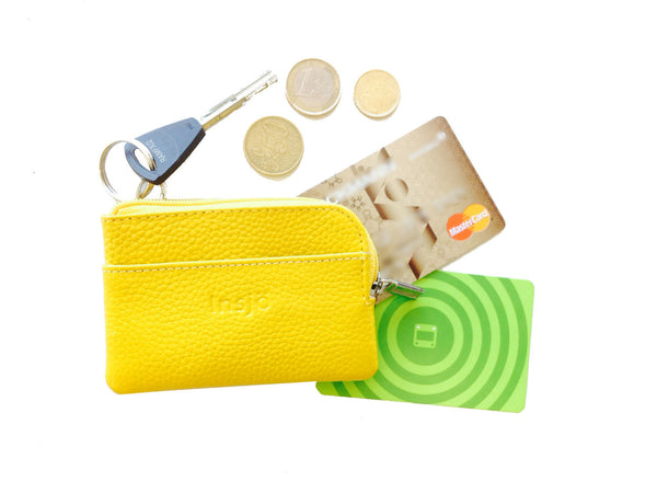 Insjö Lampi nano wallet Lemon Yellow