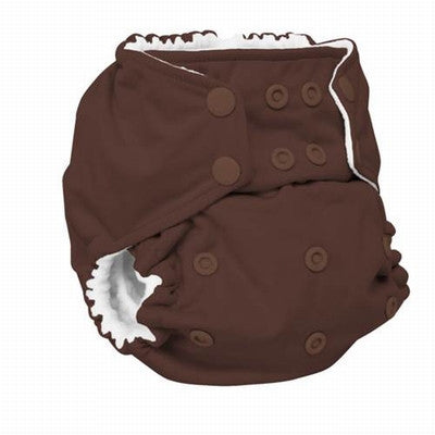 Rumparooz One Size Cloth Diaper - Root Beer