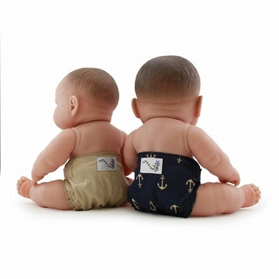 Kanga Care Doll cloth diaper - Admiral