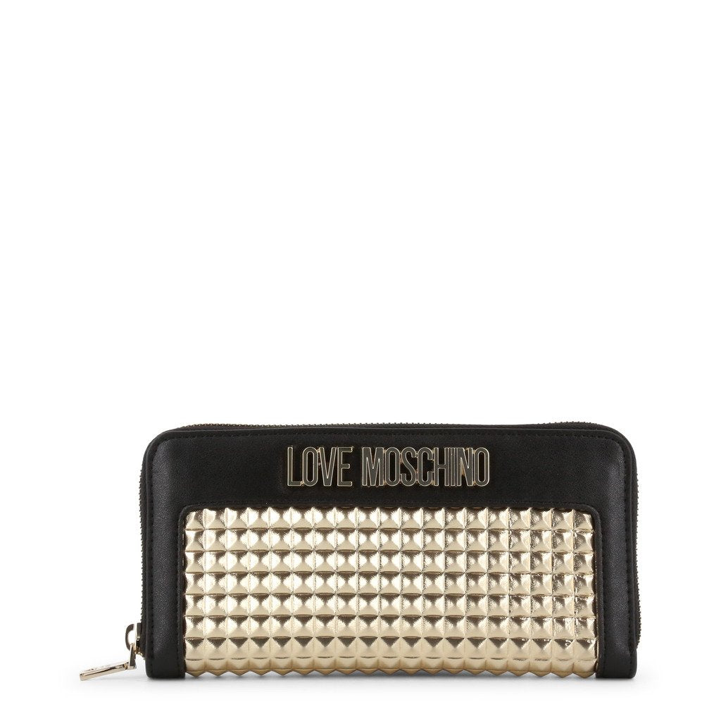 Love Moschino  Wallet In Laminated Nappa Leather