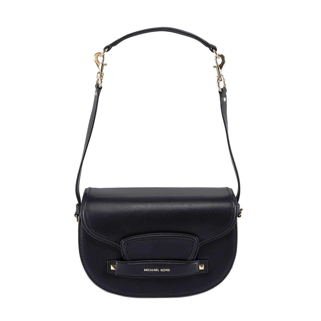 Michael Kors Cary Medium Leather Saddle Bag