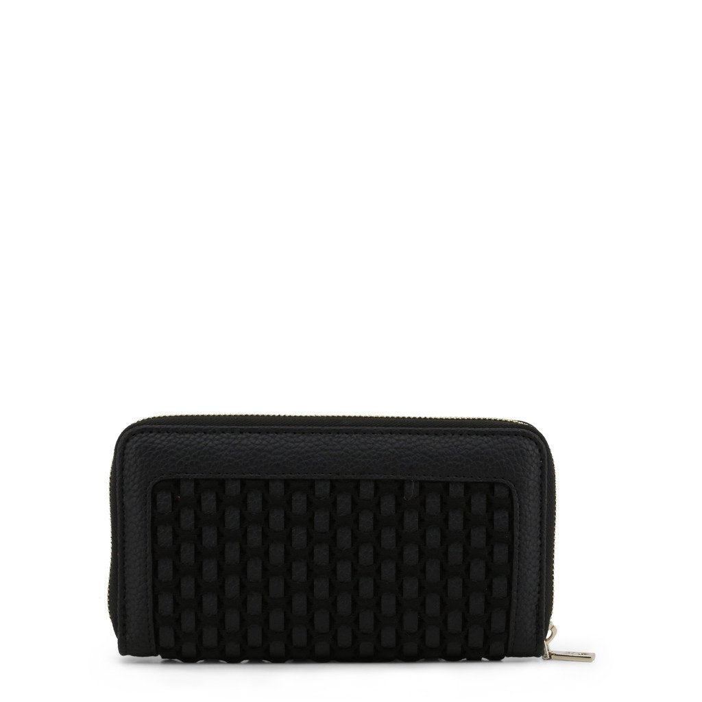 Love Moschino Wallet With Laminated Weaving