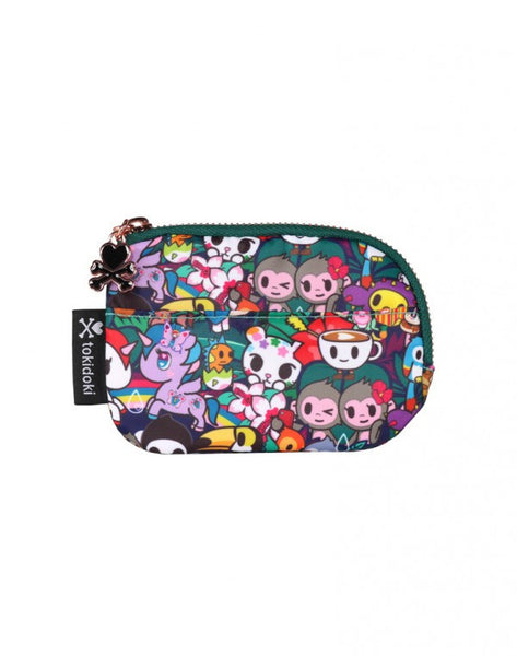 tokidoki Rainforest Zip Coin Purse