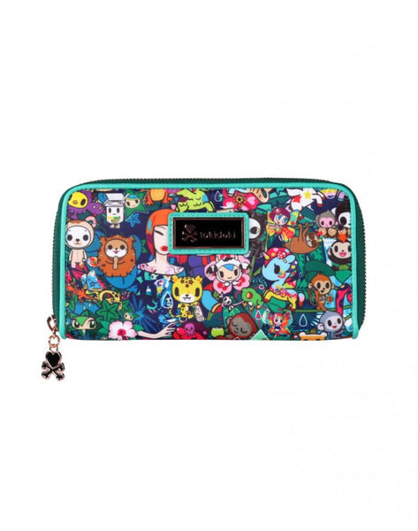 tokidoki Rainforest Long Wallet
