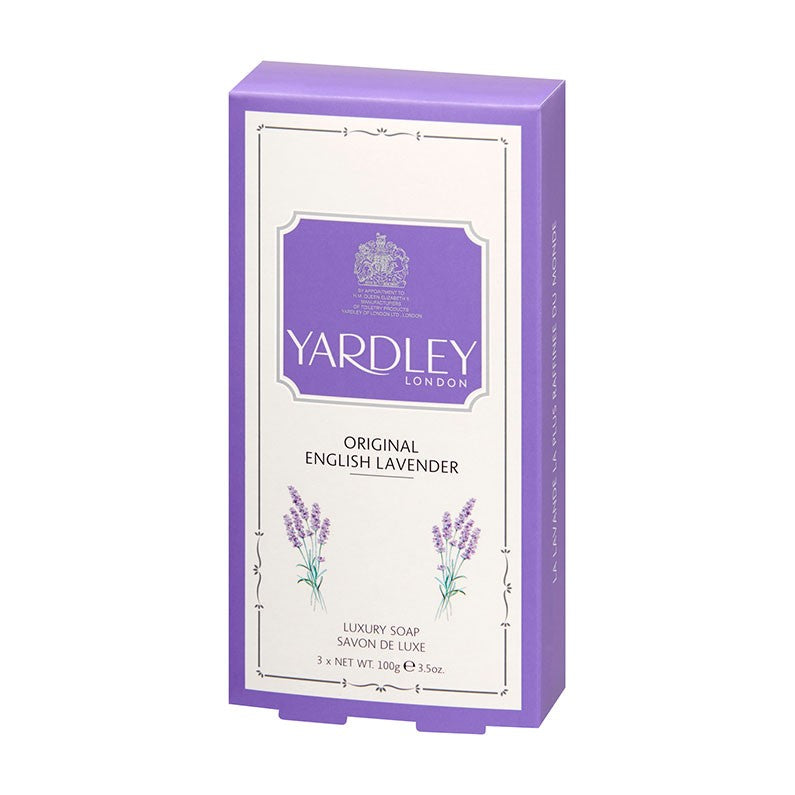 Set de 3 sapunuri English Lavender Traditionale