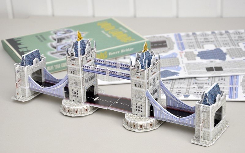 Puzzle 3D - Tower Bridge -  - 2